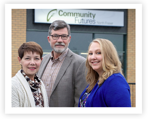 Community Futures North Fraser staff members